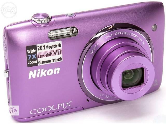 купить бу Цифровой фотоаппарат NIKON Coolpix S3500 в Тернополе