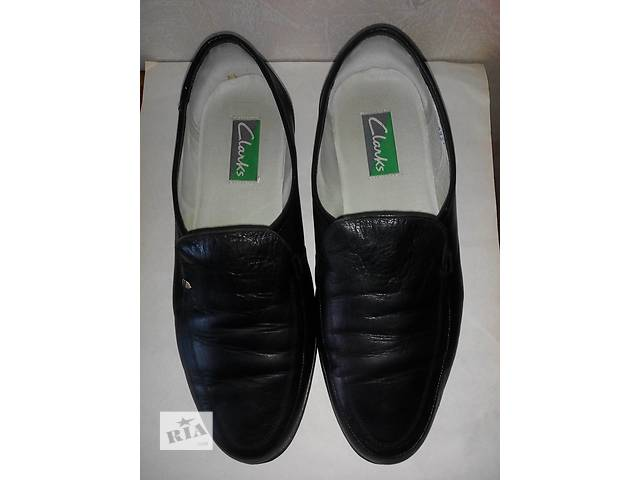 Туфли Clarks кожаные- объявление о продаже  в Киеве