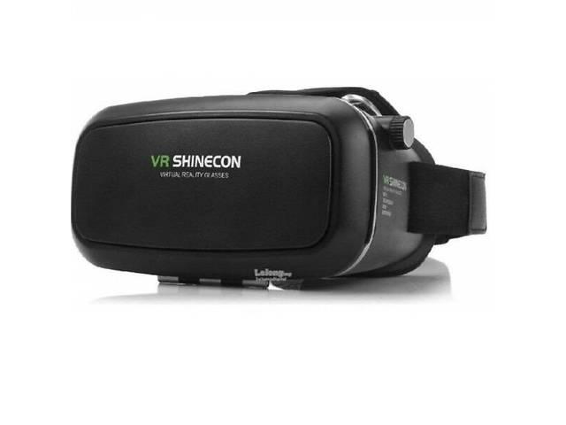 купить бу 3D окуляри віртуальної реальності VR BOX SHINECON + пульт Чорні  (A671970389) в bd6cabb6009bd