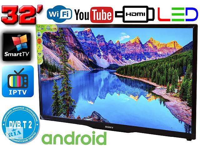 купить бу Телевізор SmartTV SONY 32& quot; 4K 3840 x 2160, LED, IPTV, Android, T2, WIFI, USB, HDMI КОРЕЯ! в Дніпрі (Дніпропетровськ)