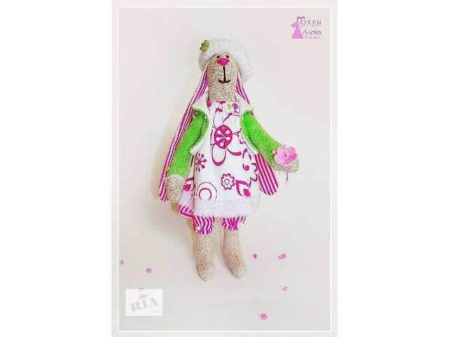 купить бу Тильда. Кролик Сима. Текстильная игрушка - сувенир. Ручная работа. в Херсоне
