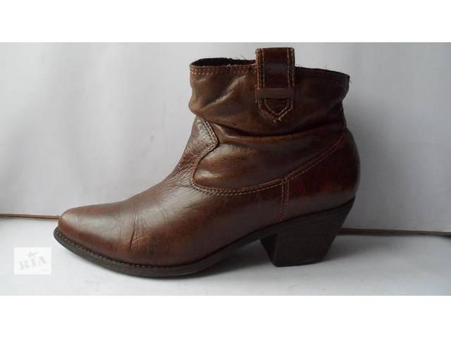 продам Удобные модные кожаные ботики faith.размер 8(42) бу в Калуше