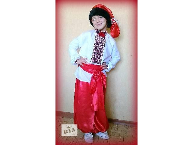 Український національний костюм для хлопчика- объявление о продаже в  Миколаєві 8efcf556813df