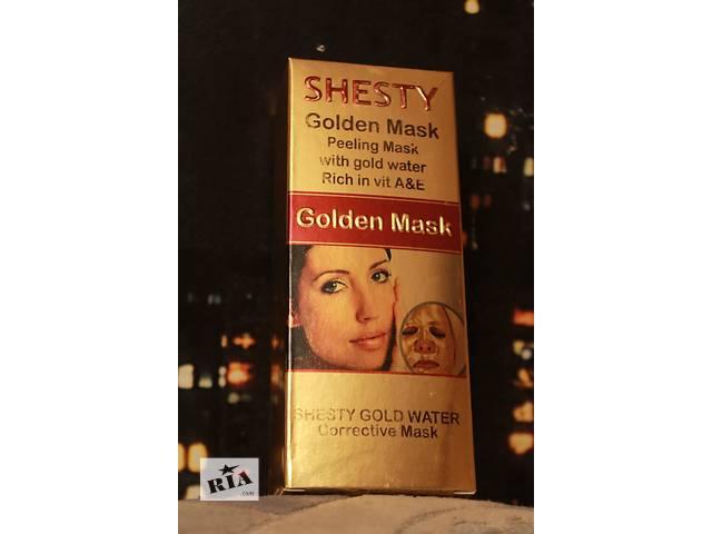 купить бу  Подтягивающая !!Уникальная действенная  золотая ,серебрянная маска в Нетешине