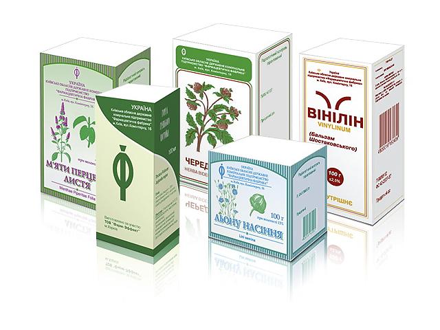 бу Упаковка для лекарственных трав и для чая в Киеве