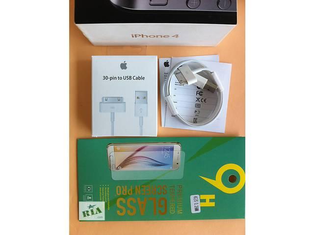 купить бу Usb кабель iPhone 3/3G/4/4s 30pin зарядка шнур юсб айфон 4 + ПОДАРОК в Днепре (Днепропетровск)