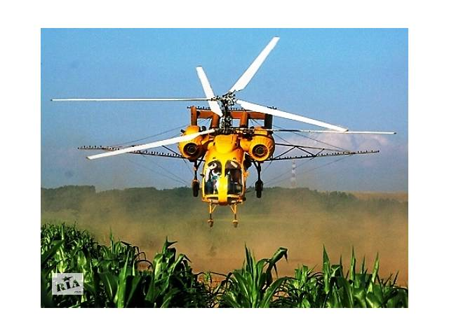 бу Услуги сельхозавиации - обработка кукурузы вертолетом  в Украине