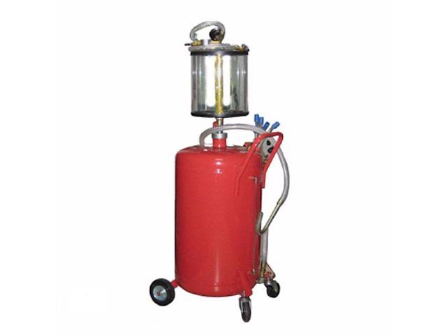 купить бу Установка для вакуумной откачки масла с мерной колбой  G.I. KRAFT B8010KV (80л.)  в Львове