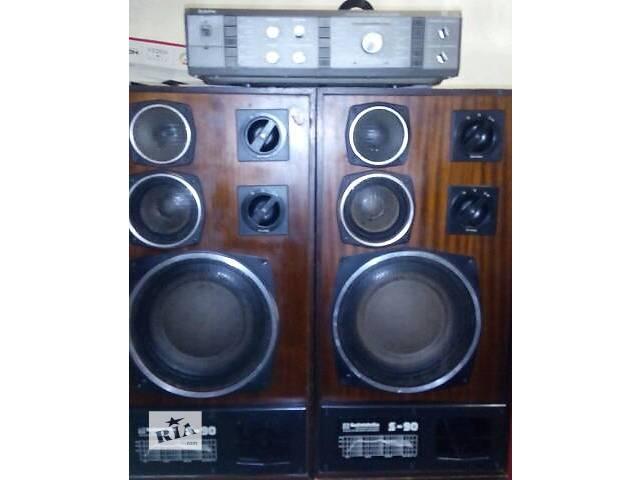купить бу усилитель Барк 068 + акустика Radiotehnika S-90 а отличном состоянии в Херсоне