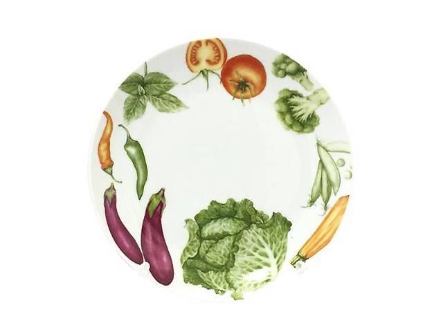 "продам Десертная тарелка ""Овощи"" Ø19.5см, керамика бу в Одессе"