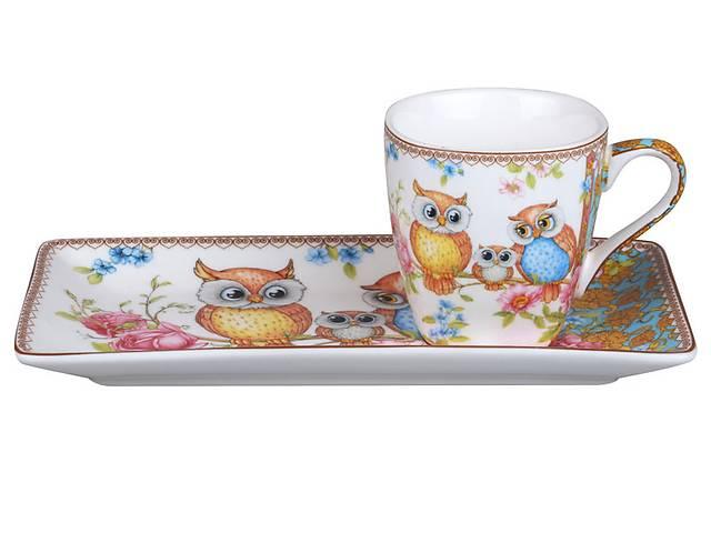 Кофейный набор Lefard 2-х предм. Совушки 924-040- объявление о продаже  в Киеве