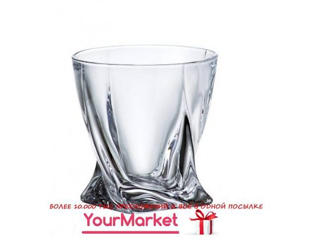 Набор стаканов для виски Bohemia Quadro 340 мл 6 пр- объявление о продаже  в Чернигове