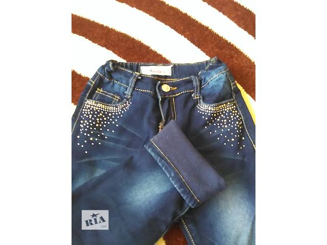 продам Утепленные джинсы для девочки бу в Тернополе