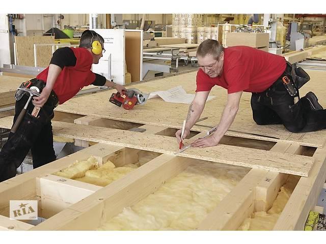 Чоловіки на фабрику по виробництву збірних дерев'яних будиночків в Чехію- объявление о продаже   в Украине