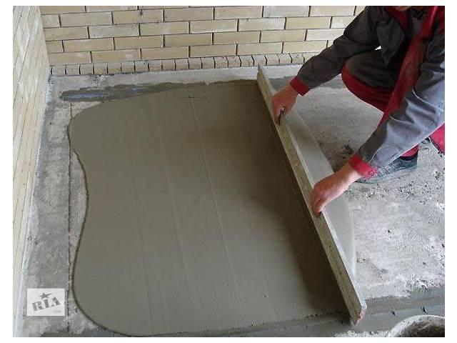 Работа в Польше внутренний ремонт стяжек- объявление о продаже   в Украине