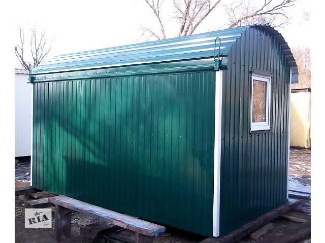 продам Вагончик, модульный домик 4х2,5 м бу в Киеве