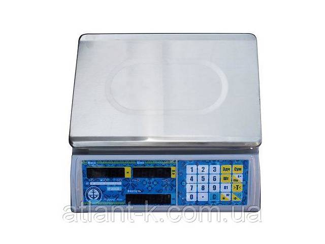купить бу Весы торговые  VP-LN 30 LCD, Вагар, Украина в Киеве