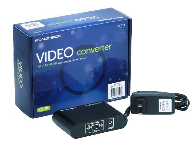 купить бу VGA в HDMI  конвертер LKV350 в Киеве