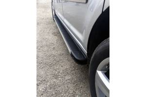 Volkswagen Caddy 2010 Боковые пороги Maya на стандартную базу / Боковые пороги Фольксваген Кадди