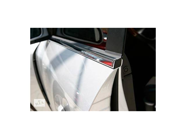 купить бу Volkswagen Tiguan 2007-2016 гг. Окантовка окон (6 шт, нерж) в Чернівцях