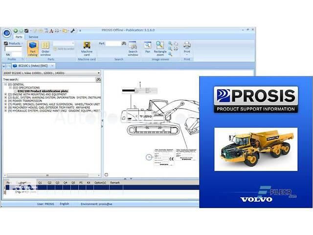 продам Volvo Prosis - установка программы каталога запчастей для Volvo бу в Днепре (Днепропетровск)
