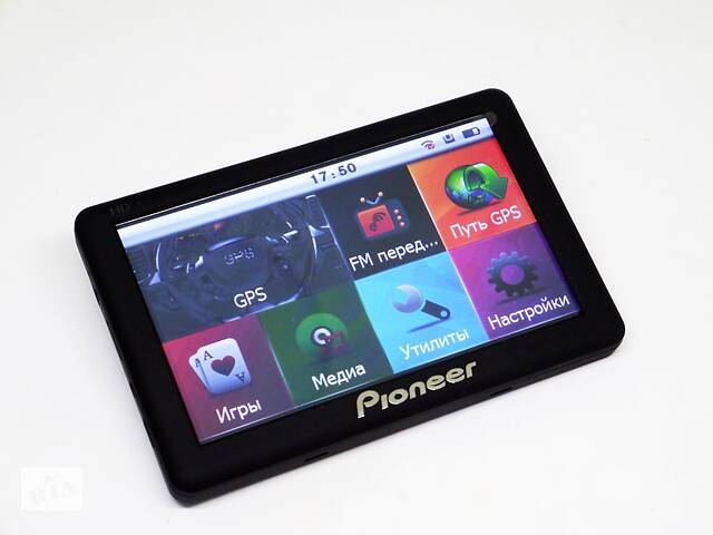 """продам 5"""" GPS навигатор Pioneer 6009 - 8gb  128mb  IGO+Navitel бу в Житомире"""