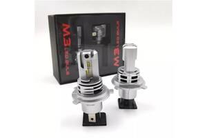 Авто LED лампы Н7 Н11 H4 с лед чипами ZES.Без радиопомех.Без ошибок