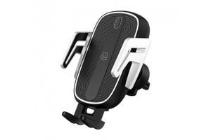 Автотримач для телефону USAMS US-CD100 Automatic Touch Induction тримач для телефону чорний