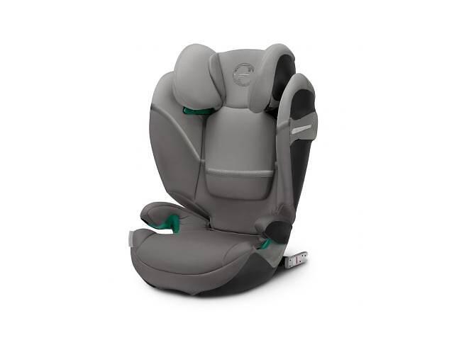 купить бу Автокресло Cybex Solution S i-Fix Soho Grey mid grey (520002419) в Харькове