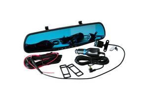 Автомобильный Зеркало-Видеорегистратор с камерой Заднего Вида Vehicle Blackbox DVR Full HD LL