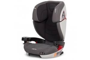 Детское автокресло isofix 15-36 кг с положением для сна от 3 до 12 лет  EasyGo Camo carbon черное