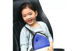 Трикутний адаптер на ремінь для дитини. Фіксатор заміняє автокрісло
