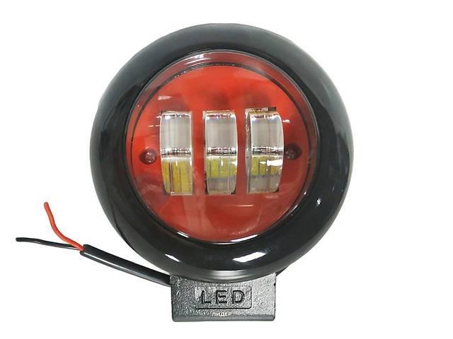 бу Фары LED ближний свет 30W 9-32V/ K/ 10LEDx3W круглая  в Украине
