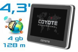 Gps Навигатор Coyote 428 Klein 4.3 дюйма Навигация 2020 года. Полностью Готов к Работе