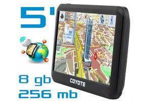 GPS навігатор COYOTE 556 MATE PRO 5 дюймів RAM 256 mb ROM 8Gb з картами навігації