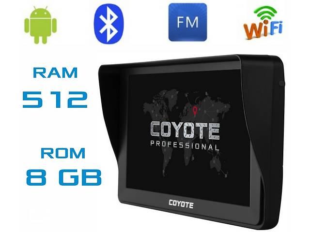 продам GPS навигатор COYOTE 812 TORR 512mb 8Gb Андроид 6 с картами навигации Европы и украины для грузового и легкового транспо бу в Киеве