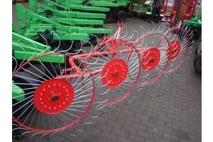 Граблі ворушилки Сонечко 4-5 коліс Агромех грабли ворошилки Солнышко