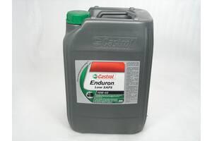Мастило моторне 10W-40 Castrol напівсинтетичне для дизельних двигунів вантажівок  Enduron Low SAPS 20л 2012