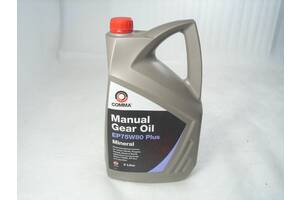 Масло трансмиссионное API GL-4 75W-80 Comma Manual Gear Oil 5л