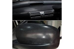 пленка для авто карбон черный