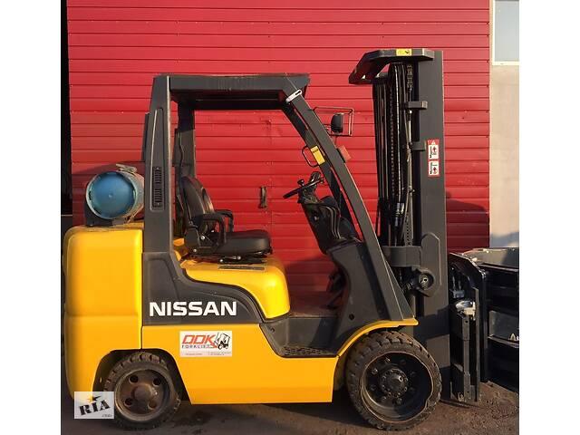 продам Погрузчик (навантажувач) Nissan 3.6т 2006р Газ бу в Одессе