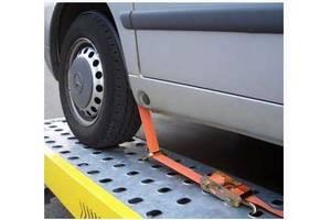 Ремень автовозний ЕВРО люкс 5т 3м поворотные крюки