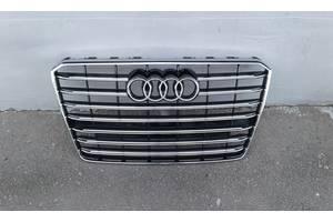 Решетка радиатора НОВАЯ!!!  Audi A8 D4 (рестайлинг) 2013-2017