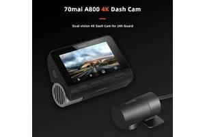 Видеорегистратор Xiaomi 70mai A800 4K Dash Cam gps g-сенсор до 128Gb