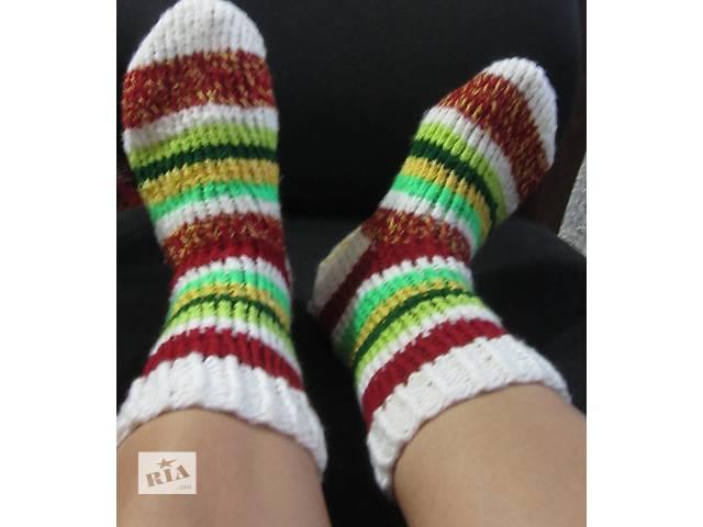 бу вязаные теплые  носки в Черкассах