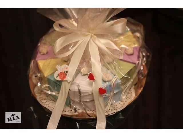 бу Бумажный торт - отличный подарок-сюрприз . в Киеве