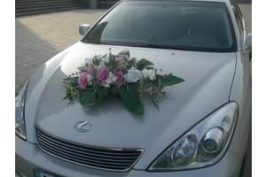 прокат (продажа) композиций для украшения капота свадебного автомобиля