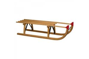 Новые Санки деревянные