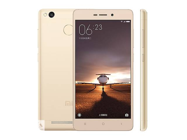 Xiaomi Redmi 3s pro Gold 3/32, новый, +бампер +пліка- объявление о продаже  в Тернополе