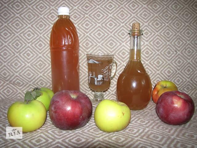купить бу Органический яблочный уксус на меду выдержанный в Киеве
